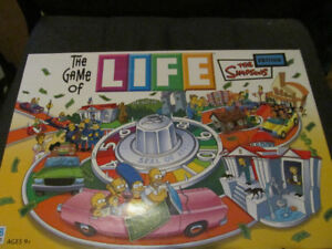game of life Simpson version