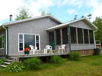COTTAGE - WATERFRONT 2.35 ACRES WITH 350 FT OF OCEAN FRONTAGE
