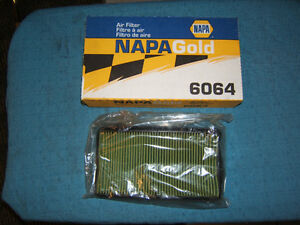 New Napa Gold Air Filter #6064 - Honda Accord 90-93 2.2L