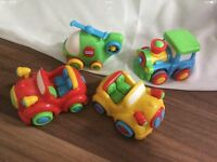 Little Tikes,Set of 4,Toy Cars
