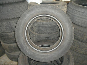 (4) ETS Trail master suv steel radial LT tire size 235/65R17