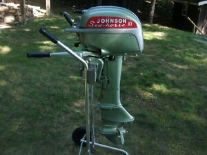 1951Johnson 10hp Outboard for collector