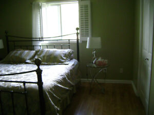 Beautiful King Size Bed and Accessories