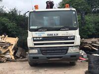 Daf 75 26 ton Grab lorry