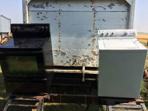 For sale - Maytag stove and GE washer for