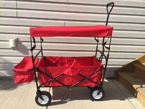 Deluxe Foldable Wagon