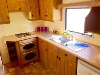 Family static caravan for sale - Skegness - 5 mins from beach -