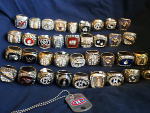 Stanley Cup Championship NHL Hockey Rings