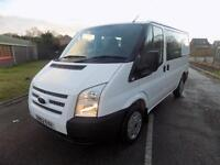 FORD TRANSIT 260 SWB LOW DOUBLE / CREW CAB 2.2 FWD 100 BHP EURO 5 6 SPEED 62