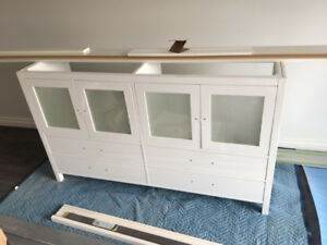 White Double Vanity for sale