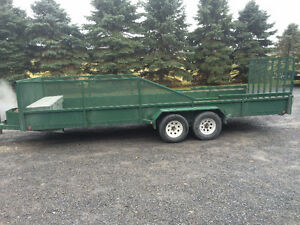 2004 Double Axle Trailer- Home Made Cornwall Ontario image 1