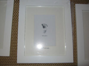 NEW, Baby Mexx 3 picture frames, with writing on mat... St. John's Newfoundland image 2