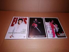 Elvis The Lost Performances DVD Set.