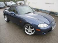 2003 MAZDA MX-5 SPORT CONVERTIBLE WITH LEATHER CONVERTIBLE PETROL