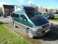 Toyota Regius Wellhouse Conversion 3 berth Camper Van pop top roof for sale