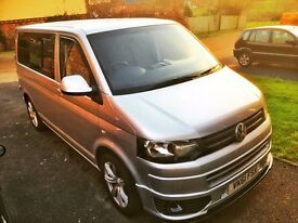 Volkswagen transporter t5 - (140bhp 6 speed) no VAT