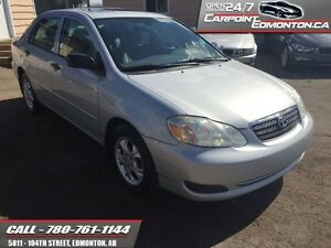 2007 Toyota Corolla CE/AUTO /EXCELLENT CONDITION ONLY $5970  - t