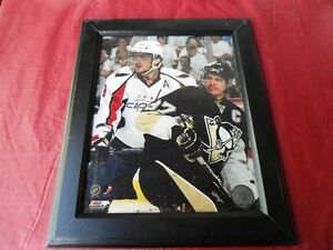 ALEX OVECHKIN AND SIDNEY CROSBY FRAME