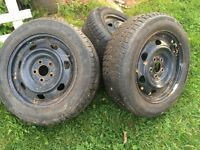 4 Hercules winter tires