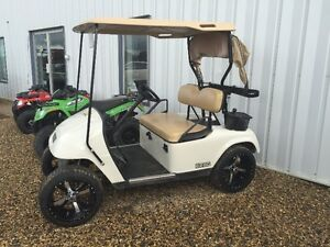 "2010 Ezgo GAS golf cart with 14"" wheels * Financing Available *"