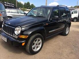 Jeep Cherokee 2.8TD ( 161bhp ) 4X4 Limited,Full Leather,Sunroof and A/C,No Vat