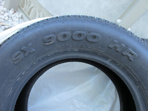 2 @ SX 9000 HR RADIAL TIRES ( $ Negotiable) West Island Greater Montréal image 2
