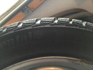 WINTER TIRES on rims for your SmartCar Kitchener / Waterloo Kitchener Area image 2