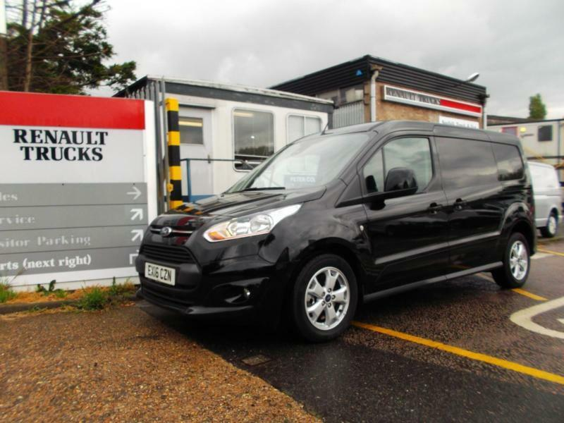 ford transit connect 1 6tdci 115ps 240 l2 limited in norwich norfolk gumtree. Black Bedroom Furniture Sets. Home Design Ideas