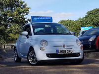 Fiat 500 1.2 SPORT WITH ONLY 36K MILES AND FULL LEATEHR INTERIOR IMMACULATE