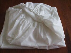 Drap contour pour couchette - blanc uni PERLIMPIMPIN