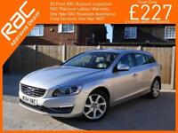 2015 Volvo V60 2.0 D4 Turbo Diesel 181 BHP SE LUX Auto Estate Bluetooth DAB Full