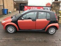 2005 SMART FORFOUR 1.1 PULSE, 1 YEAR MOT, WARRANTY, NOT CORSA CLIO PUNTO AYGO YARIS