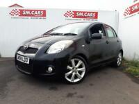 2008 08 TOYOTA YARIS 1.8 VVT-i SR 5 DOOR.SPORTY LOOKING LITTLE CAR.FINANCE POSS.