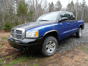 2006 Dodge Dakota SLT CREW Pickup Truck 4wd 4.7