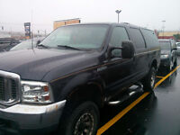 2000 Ford Excursion XLT SUV, Crossover.4x4, 7.3L Powerstroke