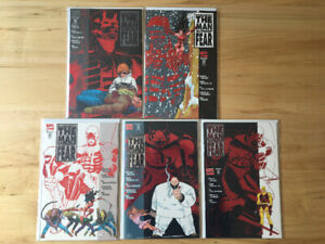 Daredevil: The Man Without Fear #1-5 comic books