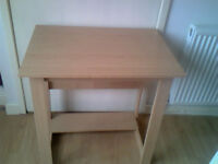 Beech Effect Office Desk