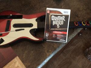 Guitar hero 5 and guitar