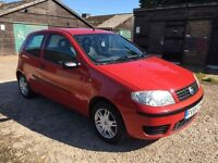 2005/55 Fiat Punto Active, Only 62000 Miles, Low Running Costs, Mot Jan 2017, S/H, Warranty, Fab Con