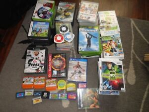 Variety of 100 Video Games for $90