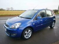 FORD FIESTA 1.4 ZETEC LOW MILEAGE FULL SERVICE HISTORY NEW CAMBELT KIT GREAT CON