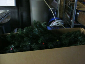 large christmas tree found in storage locker...