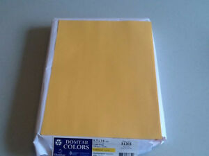 COLOR PRINTING PAPER – GOLDENROD-SMOOTH, MULTIPURPOSE