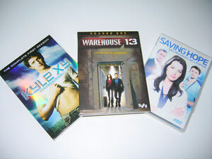 DVD Série Warehouse 13/Saving Hopes/Kyle XY/Beyond Reality