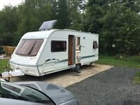 Swift challenger 500 se fixed bed