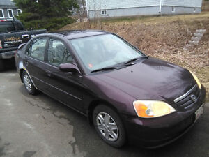 2001 Honda Civic Sedan for sale