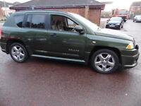 Jeep Compass 2.4PETROL (green) 2008