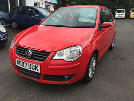 Volkswagen Polo 1.4 ( 80P ) 2007MY S FSH CLEAN & TIDY THROUGHOUT