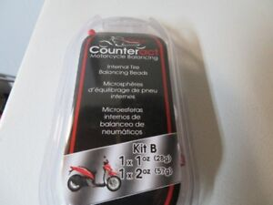 NEW -Counteract Motorcycle Balancing Kit B for most sport bikes.