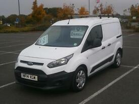 2014 14 FORD TRANSIT CONNECT 1.6 TDCi 75PS 200 L1 PANEL VAN WHITE